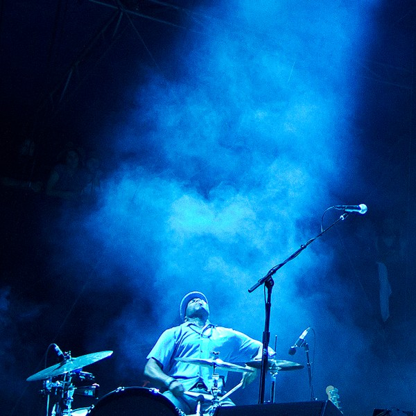 Jack White's Drummer - Hangout 2012